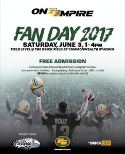 Fan Day 2017