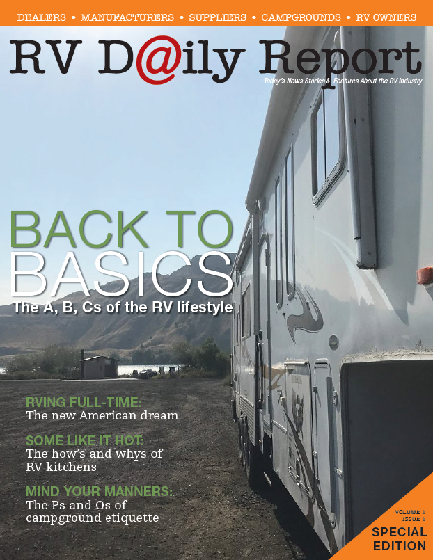 RV Daily Report Front Page