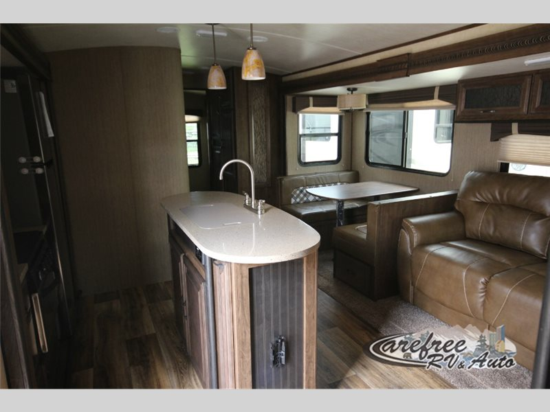 Cruiser Radiance Touring Travel Trailer Interior