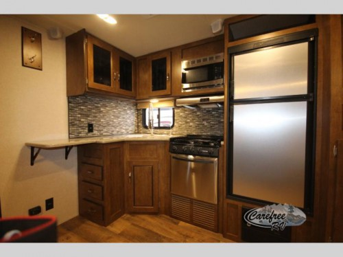 Forest River Salem Travel Trailer Kitchen