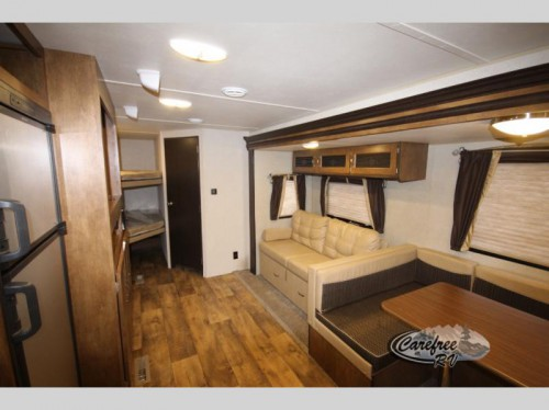 Forest River Salem Travel Trailer Interior