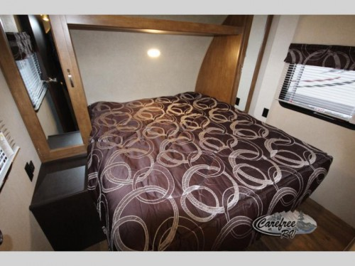 Forest River Salem Travel Trailer Master Bedroom